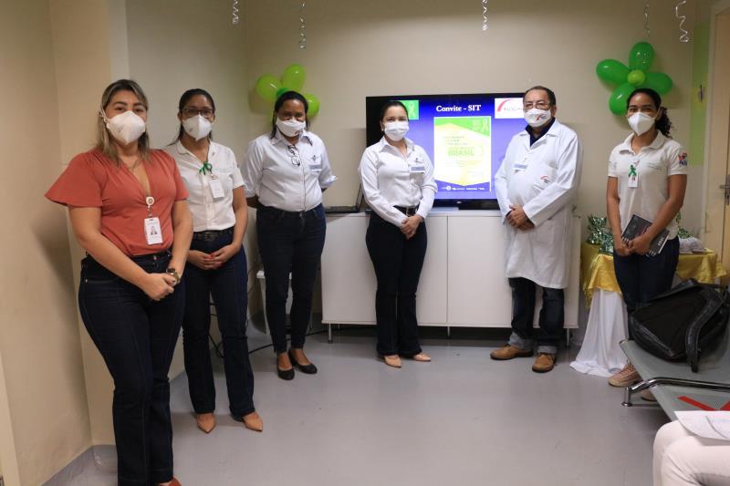 Equipe Cipa e convidados no HMIB- Pró-Saúde