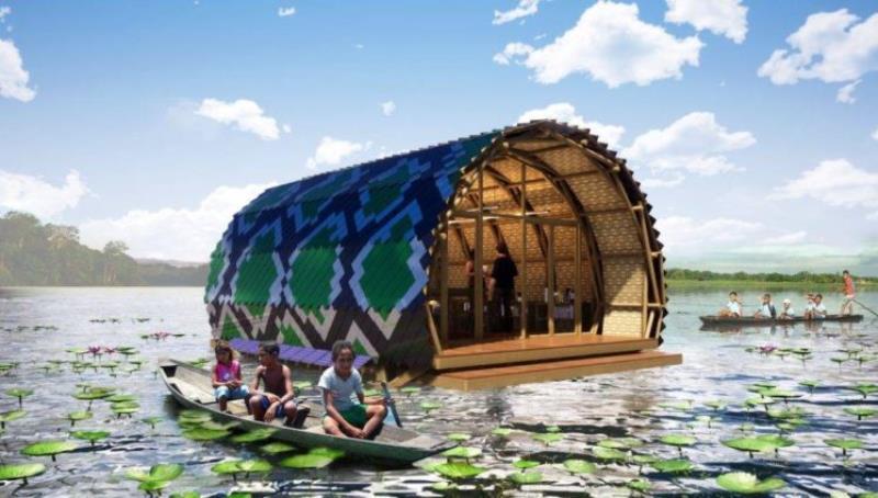 A estrutura será referência tanto de construção sustentável quanto de projeto de educação socioambiental