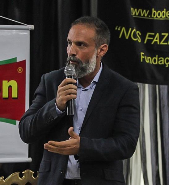 Anderson Cerceau, secretário de planejamento, representando o prefeito municipal