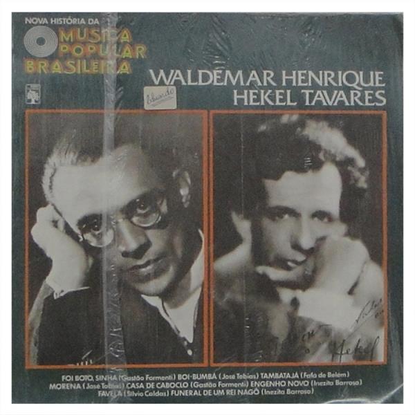 Disco de coleções da época que Sônia conheceu a obra de Waldemar