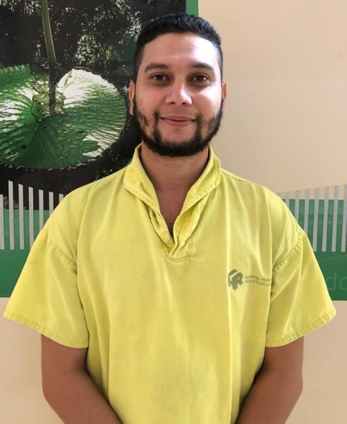 Wilson Brayner, coordenador do serviço de Fisioterapia do Regional do Leste