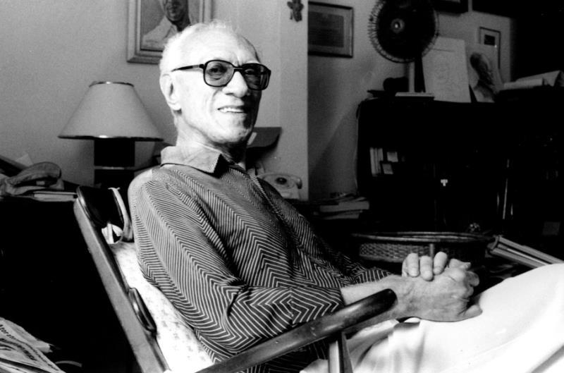 Maestro Waldemar Henrique em sua residência