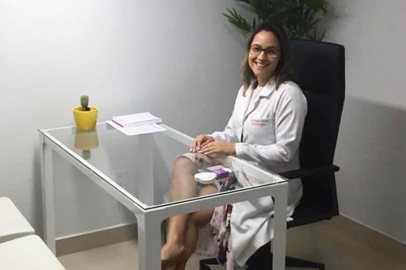 Ryssia Braun, médica endocrinologista do Hospital Jean Bitar (HJB).