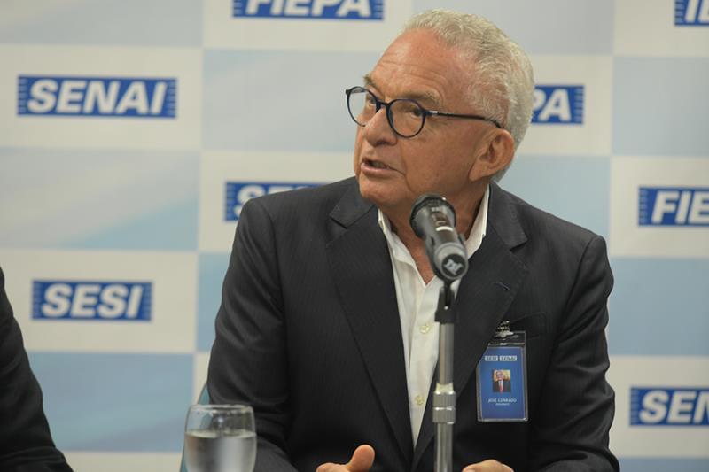 José Conrado Santos, residente da FIEPA.