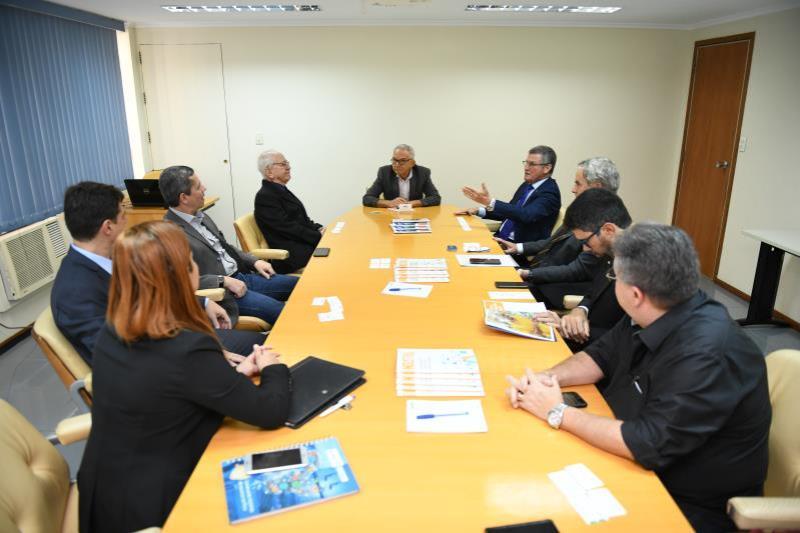 Diretores da FIEPA e Apex-Brasil