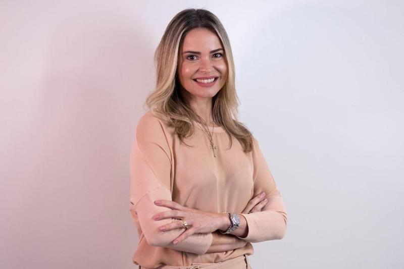 Jaqueline Sena, diretora executiva de odontologia do Sistema Hapvida