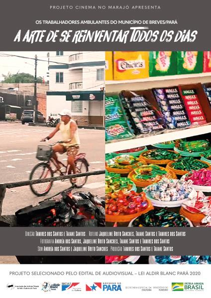 Curta apresenta a rotina de dois vendedores ambulantes que encaram os desafios deste tipo de ocupação em plena pandemia