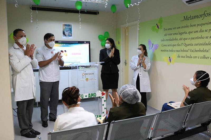 Abertura da Semana da Enfermagem no HMIB-Pró-Saúde.