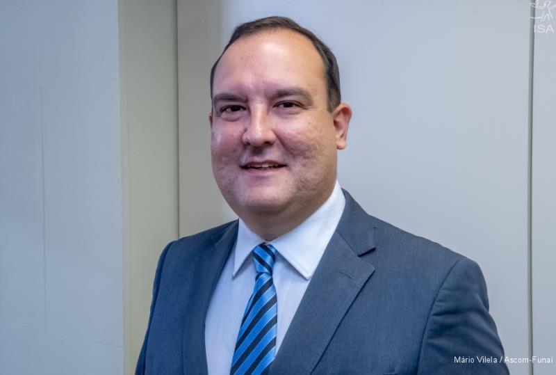 Presidente da Funai, Marcelo Augusto Xavier | Mário Vilela / Ascom-Funai