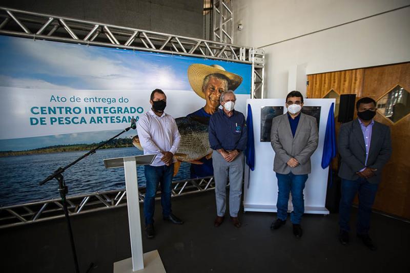 Entrega Centro Integrado de Pesca Artesanal