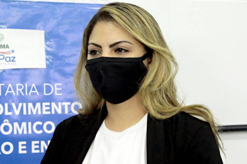 Luciana Centeno, coordenadora de Mercado da Sedeme