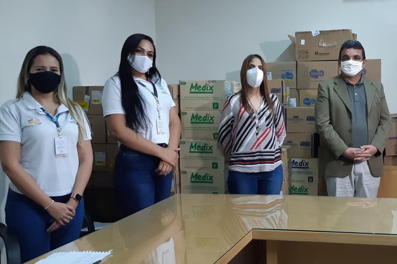 Altamira recebe insumos de saúde doados pela Norte Energia