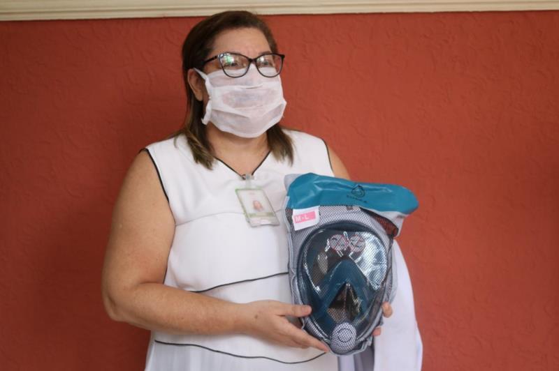 Diretora técnica assistencial da FSCMP, Drª Norma Assunção