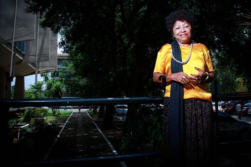 Zélia Amador de Deus é uma das principais referências na luta pela visibilidade negra no país
