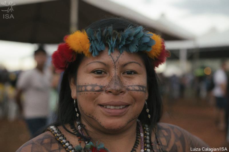 Alessandra Korap denuncia o avanço da mineração ilegal na TI Munduruku