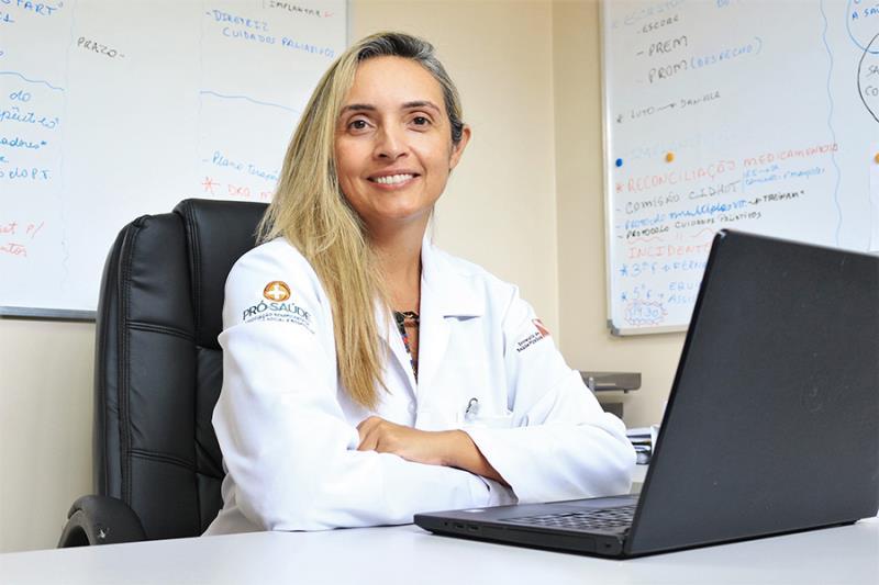 Mary Mello, Diretora Técnica do HMIB - Pró-Saúdeo