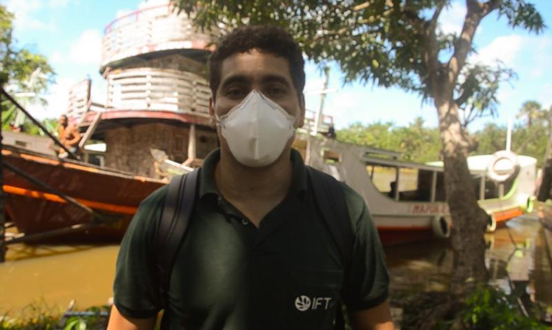 Marcelo Galdino, coordenador do projeto Florestas Comunitárias do IFT