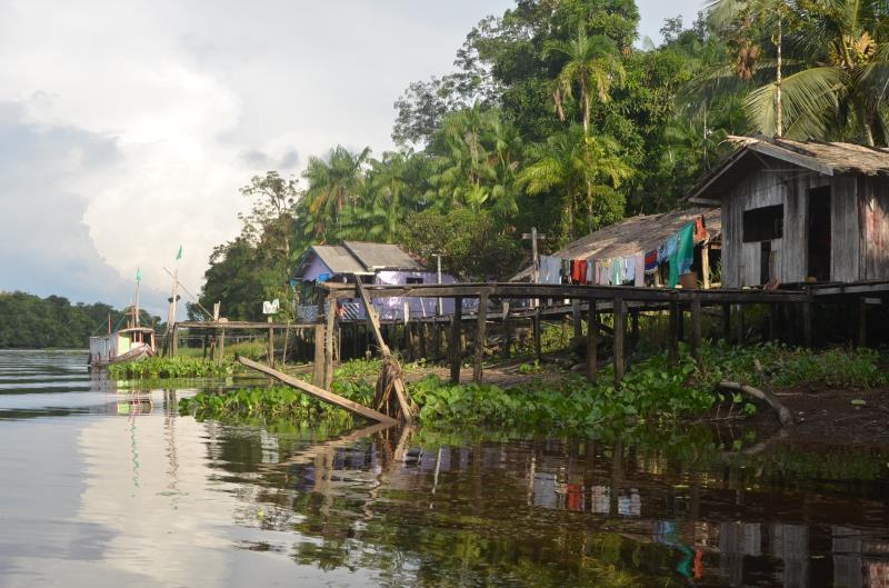 Reserva Extrativista Mapuá, localizada na região do Marajó,