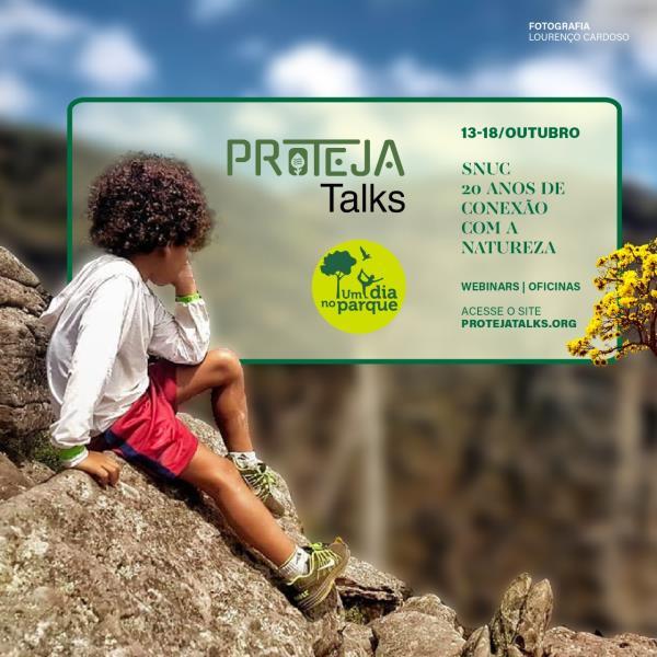 Evento reunirá personagens e especialistas em áreas protegidas no Brasil.