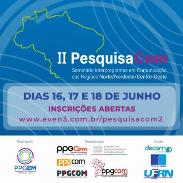 PPGCOM da UFPA é um dos participantes do evento.