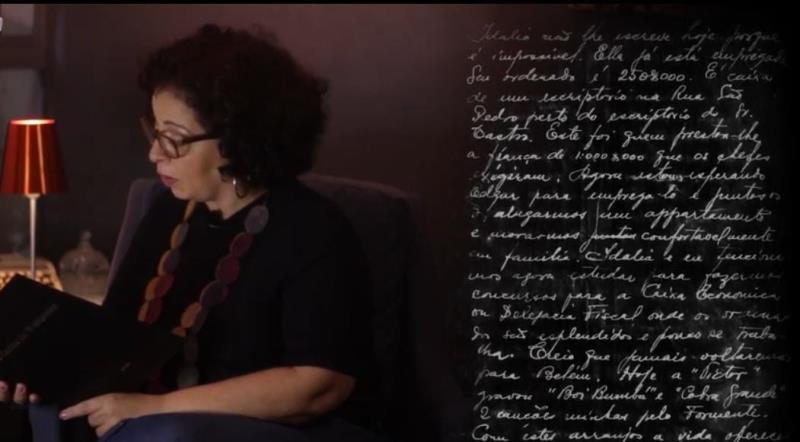 Sônia lê e comenta sobre algumas cartas selecionadas