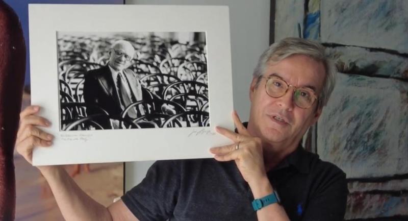 O fotógrafo Luiz Braga relata como foi produzida a foto icônica de Waldemar Henrique