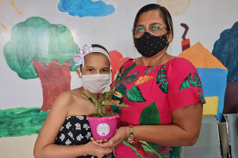 Homenagem Mãe Ambulatório Foto Comunicação Pró-Saúde