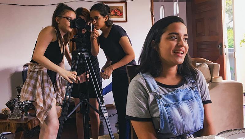 """Somente mulheres trabalharam na produção do curta-metragem """"Sala de Jantar"""", feito na UFPA"""