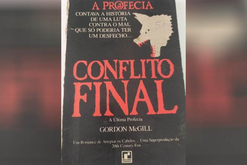 """""""Conflito Final"""", da mesma editora: duelo conclusivo entre forças antagônicas"""