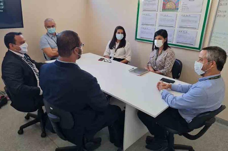 Trainees e diretores do Oncológico Infantil Foto Comunicação Pró-Saúde