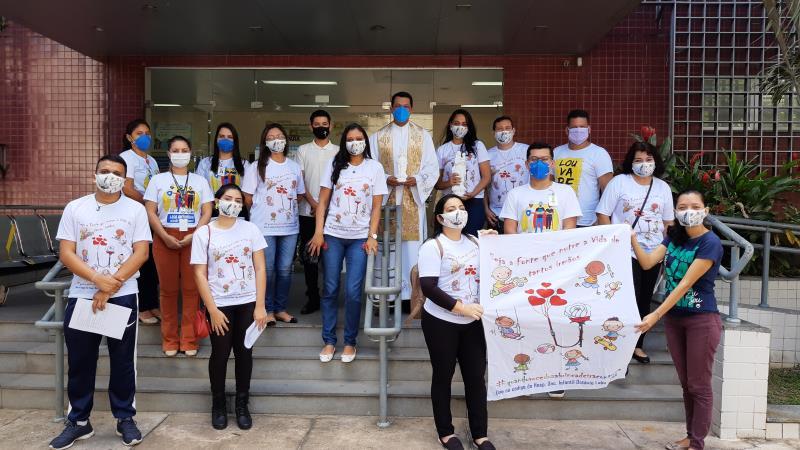 Voluntários do Hospital Oncológico Infantil