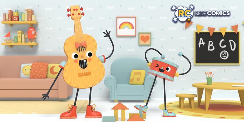 """Animação nacional """"Viola e Tambor"""" vai ao ar nos canais Disney da América Latina"""