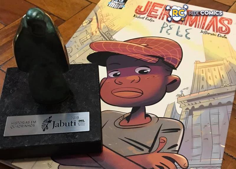 Jefferson Costa conversou com o Rede Comics sobre o Prêmio Jabuti