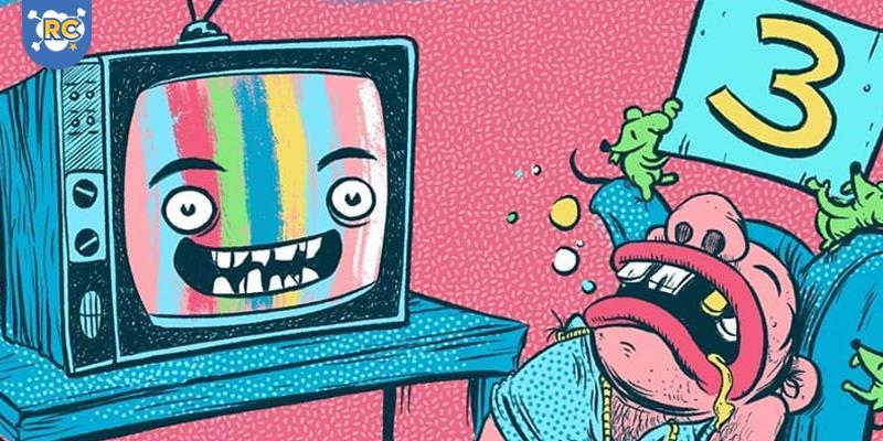 A revista colaborativa de quadrinhos e artes independente Pé-de-Cabra. Faz uma chamada para novos colaboradores para sua edição #3