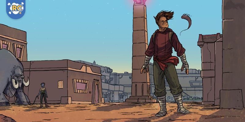 Continuando sua jornada pelo deserto em um pequeno assentamento, e aproveita para reabastecer suas provisões. Mal sabe ele que encontrar pessoas em um ambiente inóspito pode ser mais perigoso do que estar sozinho.