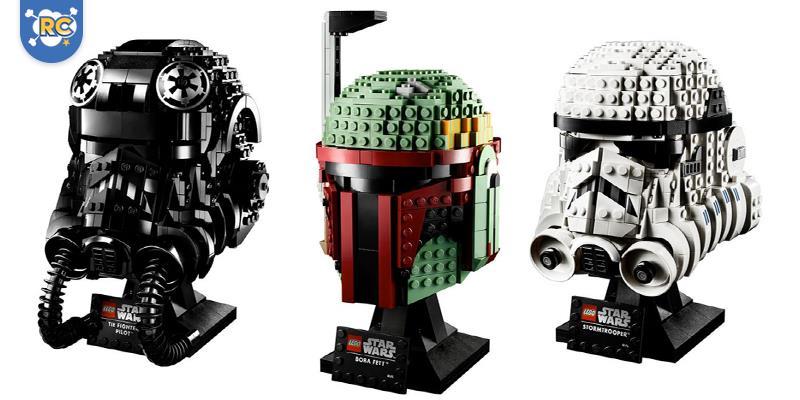 LEGO lança capacetes Star Wars montáveis, incluindo Boba Fett. A Força é forte com esses novos conjuntos.