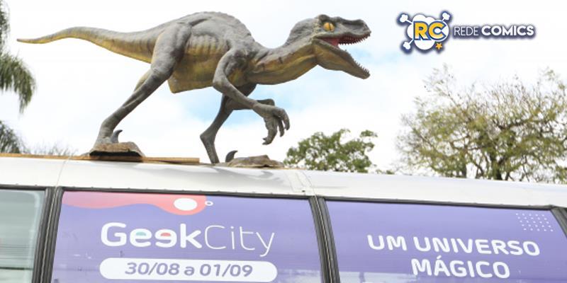 Campanha da Geek City em Curitiba