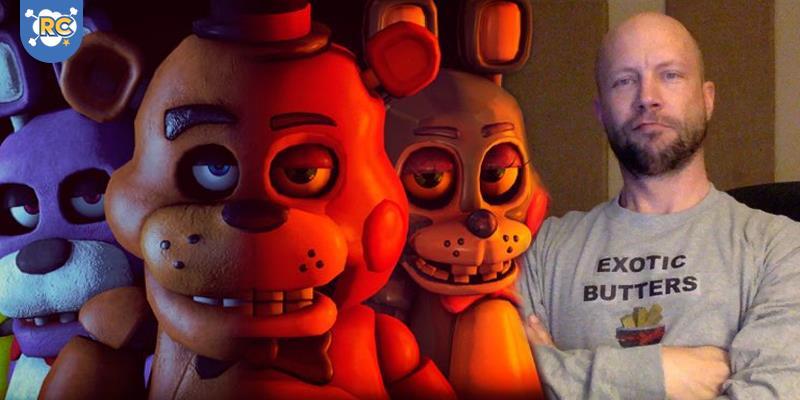Andy Field, dublador de Marvel Avengers Academy, Paladins e da série de terror Five Nights at Freddy's, estará na 13ª edição da Brasil