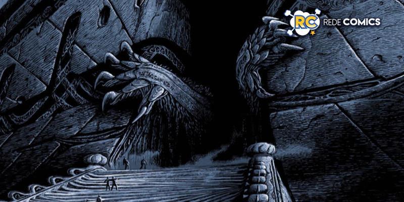 A obra máxima de H.P. Lovecraft finalmente será publicada no Brasil, em uma versão inédita, com ilustrações de Salvador Sanz