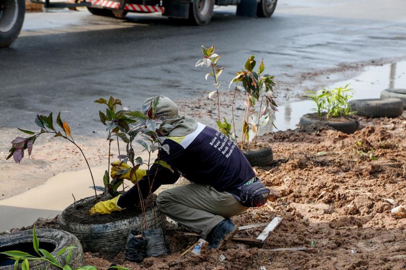 Servidores da Sesan e da Semma uniram esforços com os moradores e transformaram as áreas.