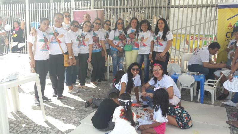 A ação foi realizada na Praça Santuário, e teve como principal objetivo levar informação sobre a importância do combate ao trabalho infantil.