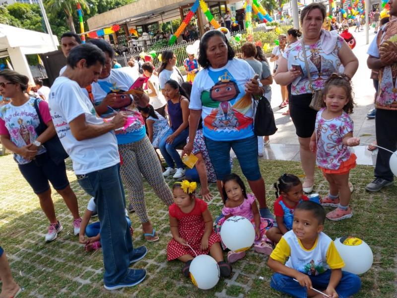 A Prefeitura de Belém por meio da Funpapa, realizou na manhã deste domingo, 21,  ações de conscientização e educação em prol do combate ao trabalho infantil.