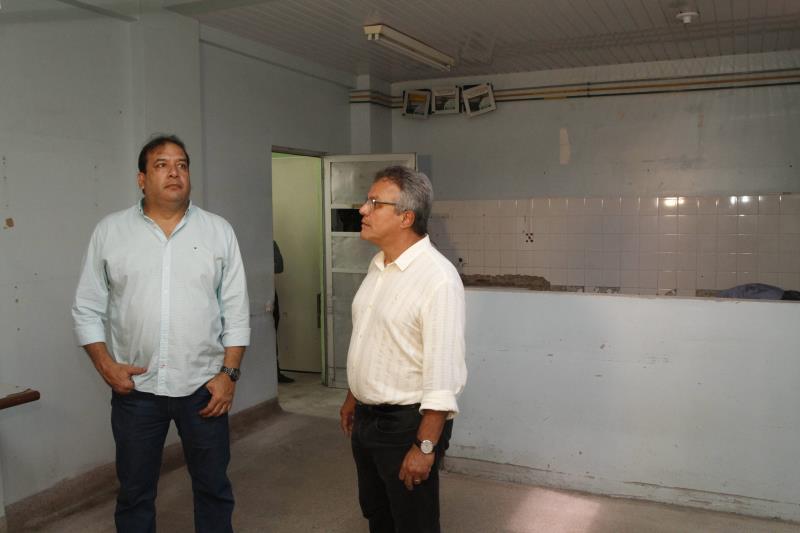 """De acordo com o prefeito Zenaldo Coutinho, o PSM do Guamá já entrou em obras. """"Aqui teremos a ampliação e qualificação do número de leitos"""", disse o prefeito."""