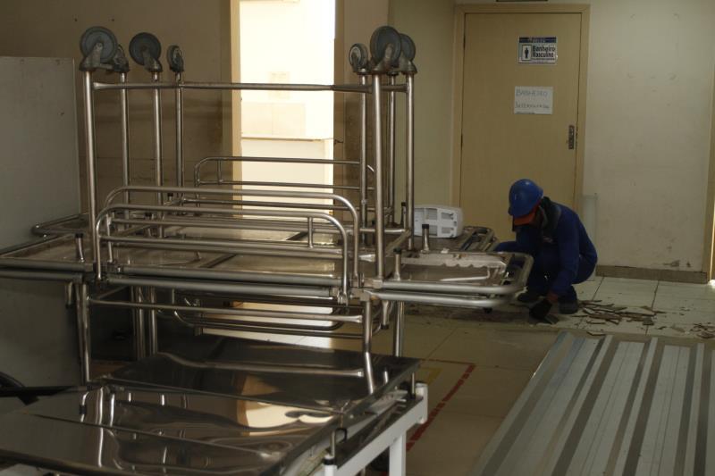 Na ampliação dos serviços, o número de leitos disponíveis, que era de 68 passará para 92 no PSM do Guamá.
