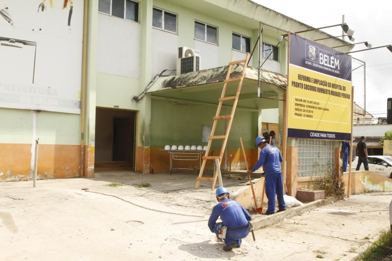 As obras no PSM do Guamá serão executadas aos moldes das que foram feitas no PSM da 14 de Março, isto é, com ampliação dos serviços.
