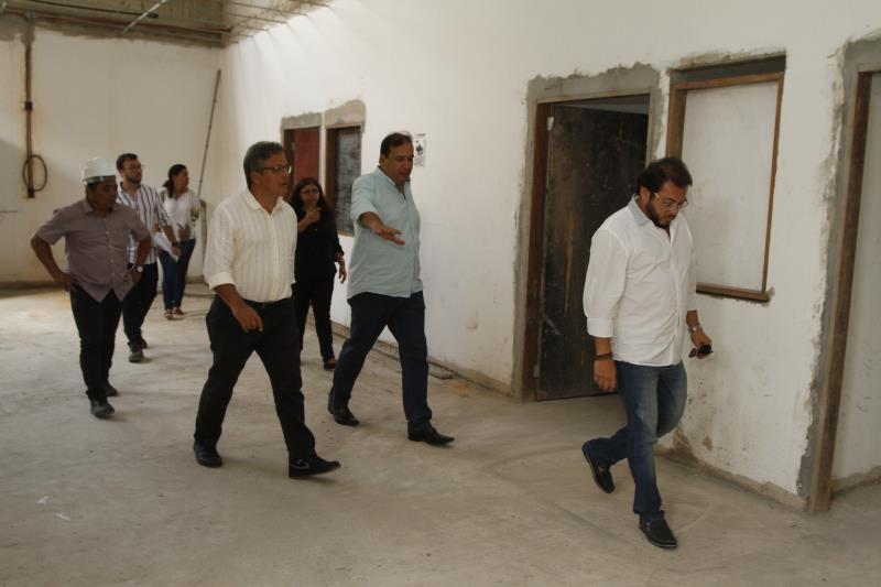A Unidade de Pronto Atendimento (UPA), da  Marambaia foi uma das unidades visitadas pelo prefeito Zenaldo Coutinho.