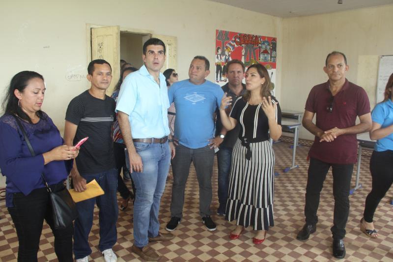 Deputada participa de reinauguração de Escola Estadual em Marapanim