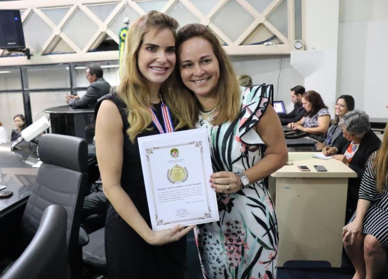 Primeira dama Daniela Barbalho