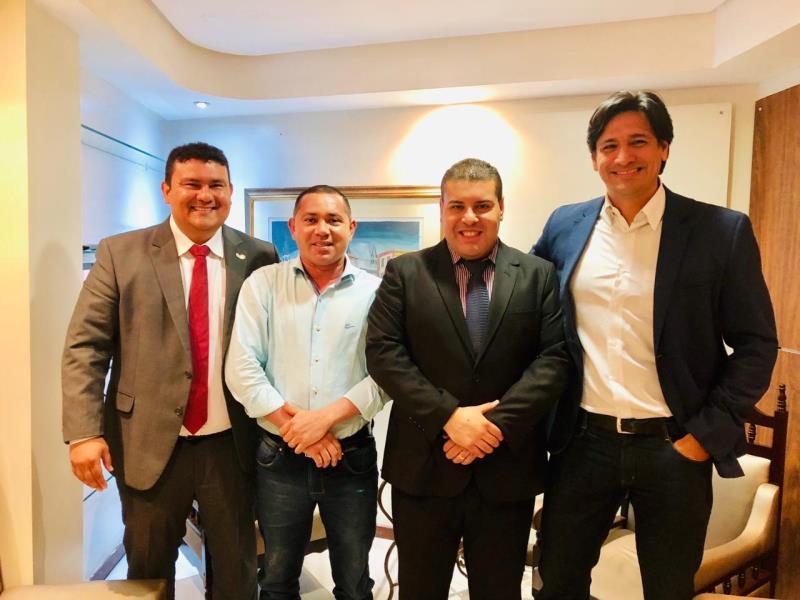 Dr. Galileu, Rosivaldo Barbosa, Fábio Freitas e Pedro Henrique