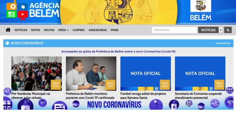A Coordenadoria de Comunicação (Comus), passou a adotar algumas medidas preventivas sobre o coronavírus, desde a quinta-feira, 19